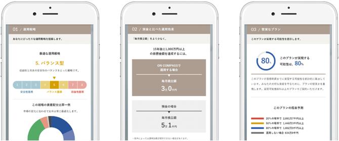 スマートフォンアプリ画像